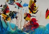 Vetreria artistica veneziana Antichi Angeli acquario artigianale Murano originale 02