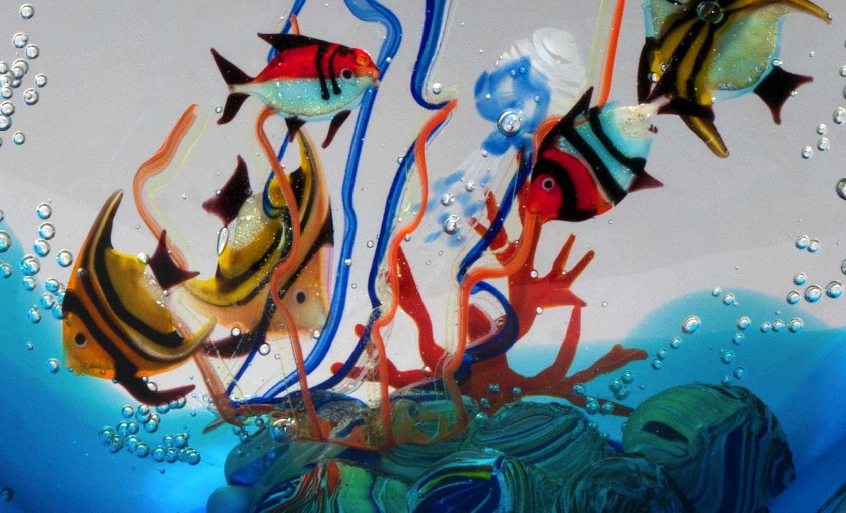 Lavorazioni vetro murano lavorazioni artistiche veneziane for Acquari moderni