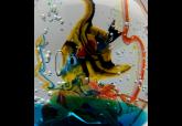 Vetreria artistica veneziana Antichi Angeli acquario artigianale Murano originale 04