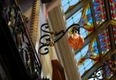 Vetreria artistica veneziana Antichi Angeli arredi moderni Murano originale 01