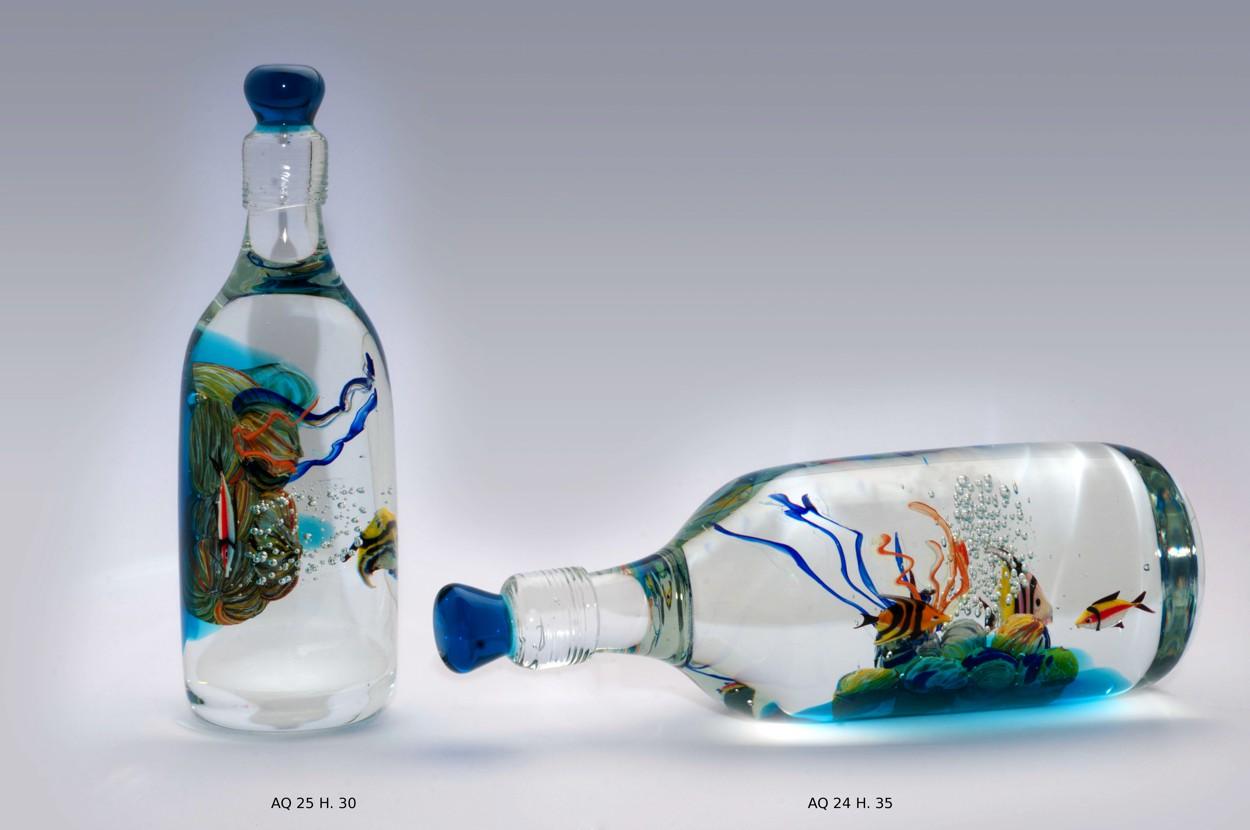 Produzione acquari veneziani artigianali lavorazione vetro for Acquari particolari
