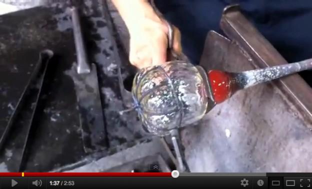 Video creazione lanterna artigianale veneziana lavorazione Murano originale Antichi Angeli