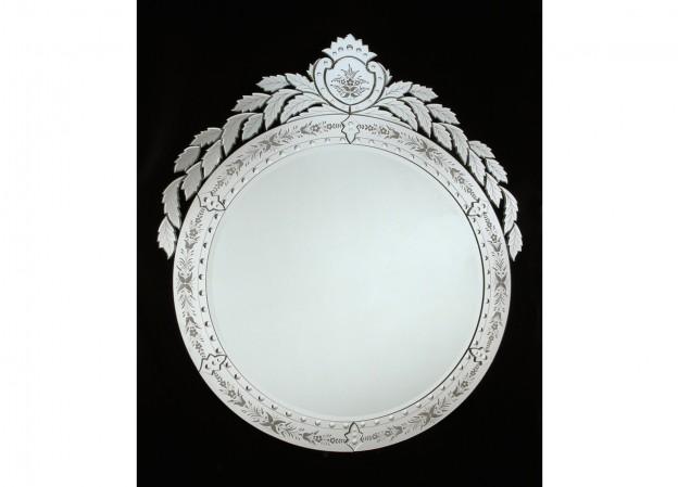 Produzione specchio artigianale veneziano SP19 lavorazione vetro di Murano originale